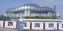 Complubot Soccer en la RoboCup Junior Japan Open 2009