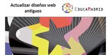 Actualizar el antiguo diseño de la web del Portal Educativo en la versión 6.2