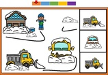 Vocabulario y buscar el igual invierno