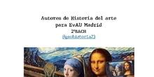 Biografías artistas Historia del Arte 2ºBACH