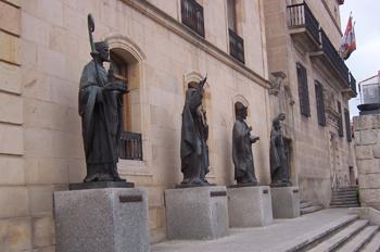 Fachada de la Diputación Provincial, Soria, Castilla y Leon