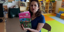 """Cathy reads the book: """"Silly Squirrel"""""""