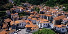 Ayuntamiento e iglesia de Cudillero, Principado de Asturias