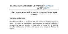 6º DE PRIMARIA - TÉCNICAS DE ESTUDIO II