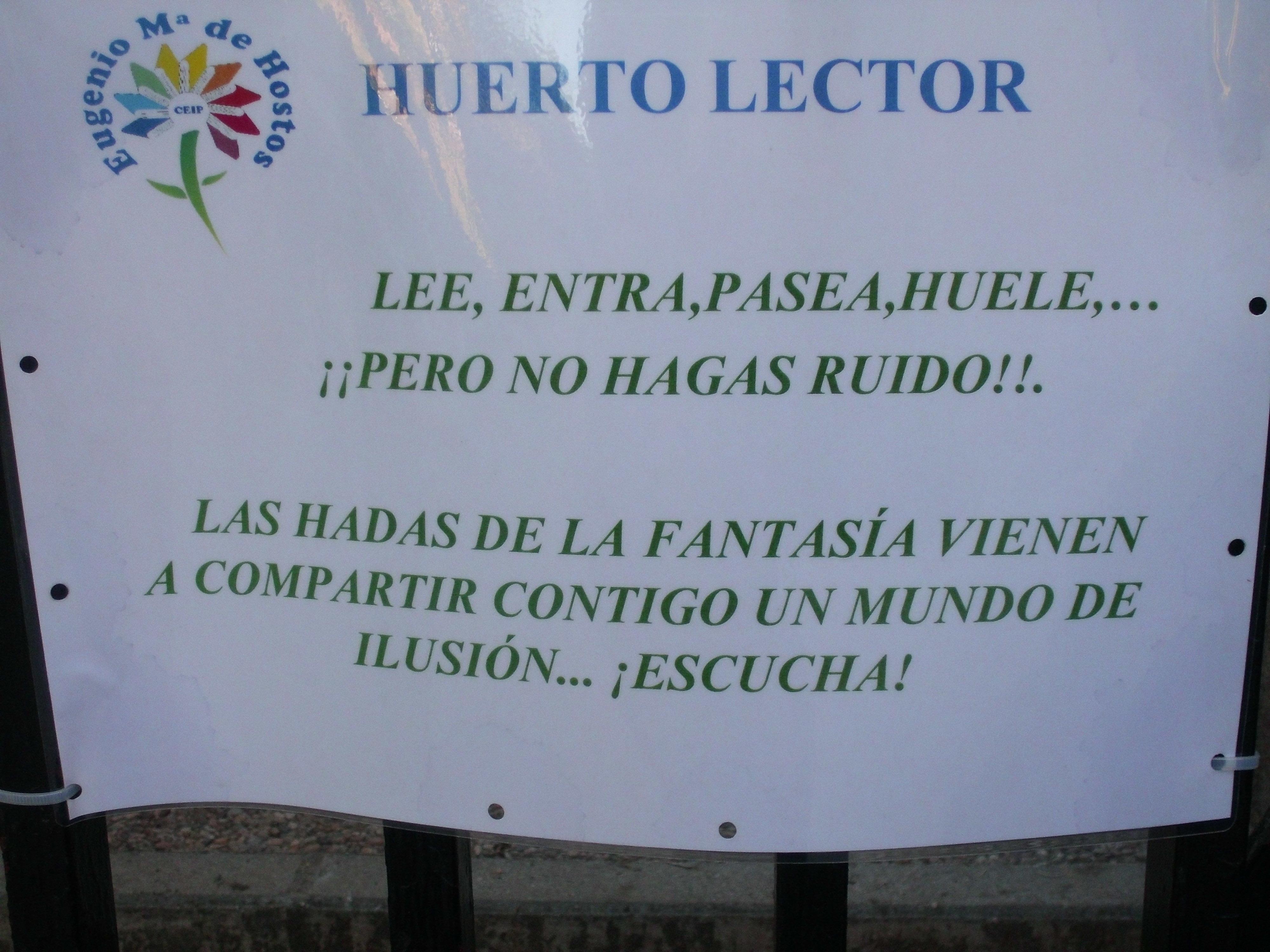HUERTO LECTOR