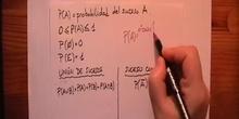 Cálculo de probabilidades. Regla de Laplace