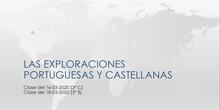 Clase de Geografía e Historia (3º ESO C/B - IES Las Rozas I - 16-18/03/2020)