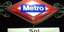 Boca del metro de Sol, Madrid