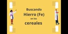 Jornadas de Salud: El Hierro en los cereales - Contenido educativo