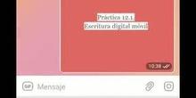 EdiDig21 LB-15 Práctica sobre escritura digital móvil