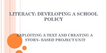 Literacy: Developing a school policy IN-37