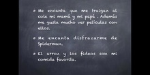 INFANTIL - 3 AÑOS A - ADIVINA QUIÉN SOY
