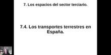 0704 Transportes terrestres en España