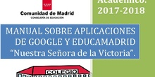 MANUAL DE APLICACIONES DE GOOGLE/EDUCAMADRID