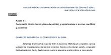 Documento inicial  aproximación al análisis melódico y pianístico