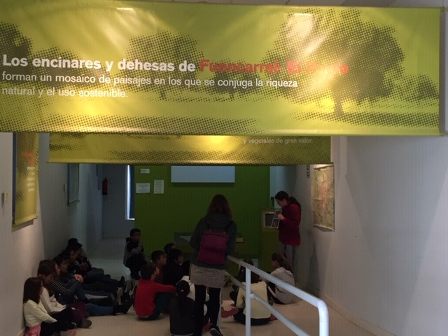 Centro de Interpretación de la Naturaleza. Montecarmelo. 6º curso. 10