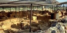 Yacimiento arqueológico en Cnosos, Creta