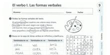 EL VERBO I: LAS FORMAS VERBALES