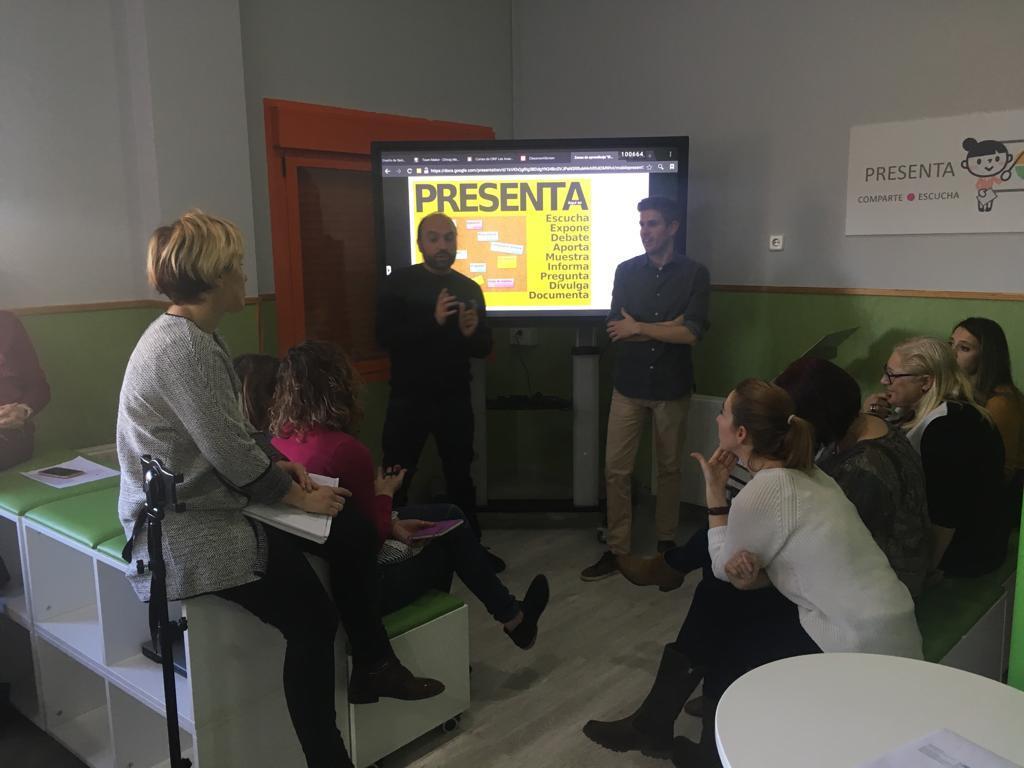 """Proyecto de formación """" Aula XXI"""" 4"""