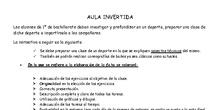 AULA INVERTIDA BACHILLERATO