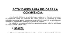 MATERIAL ELABORADO EN EL SEMINARIO SOBRE LA CONVIVENCIA