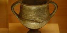 Jarra de cerámica gris, Huesca