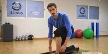 Mejorar la dorsiflexión del tobillo practicando Lunge