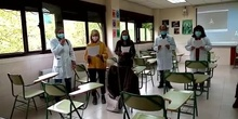 Coro de profesores de Atenea