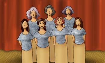 Coro femenino