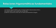 Introducción a la trigonometría II
