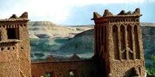 Paisaje, Ait Benhaddou, Marruecos