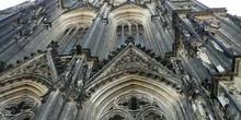 Detalle de la catedral de Colonia, Alemania