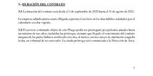 Condiciones de la prestación del servicio de cafetería IES Nicolás Copérnico