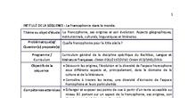 SÉQUENCE 2. LA FRANCOFONIE