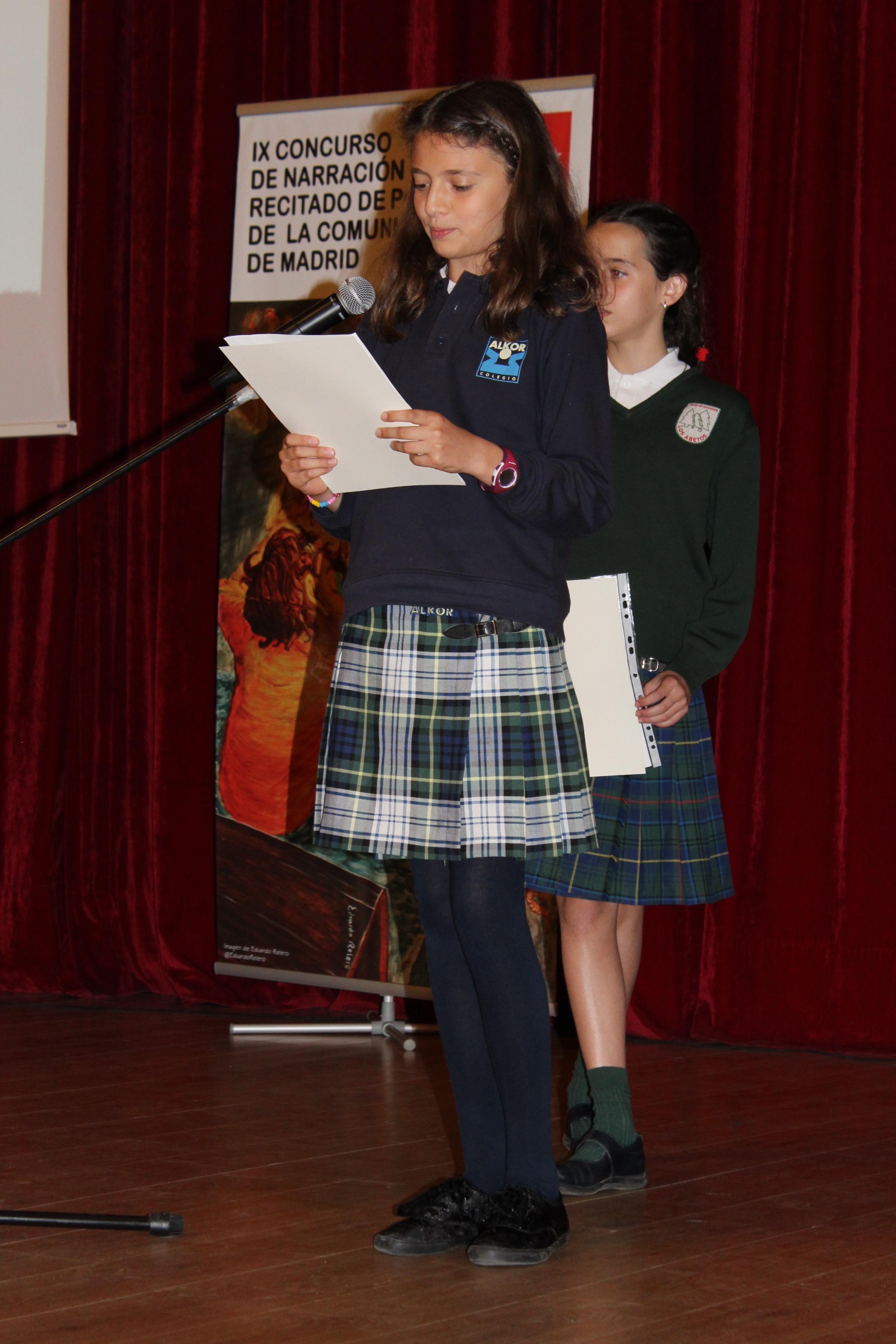 Entrega de los premios del IX Concurso de Narración y Recitado de Poesía 21
