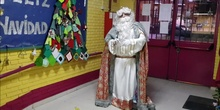 Visita Rey Melchor_Navidad 2020_CEIP Isaac Peral