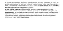 Información Feria Madrid es Ciencia 2020