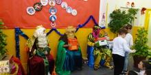 Visita de los Reyes Magos 2. Curso 19-20 22