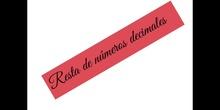 PRIMARIA_6º_RESTA DE NÚMEROS DECIMALES