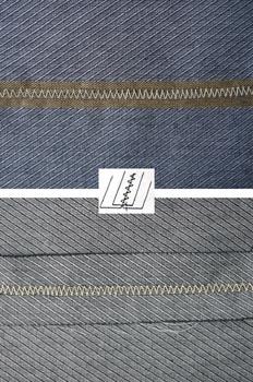 Costura plana