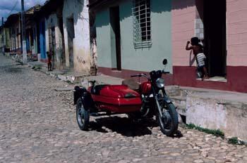 Calle de una ciudad, Cuba