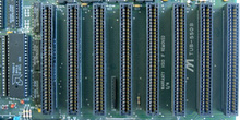 Detalle de slot de expansión ISA 8 bits