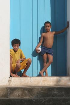 Chicos de Quilombo, Sao Paulo, Brasil