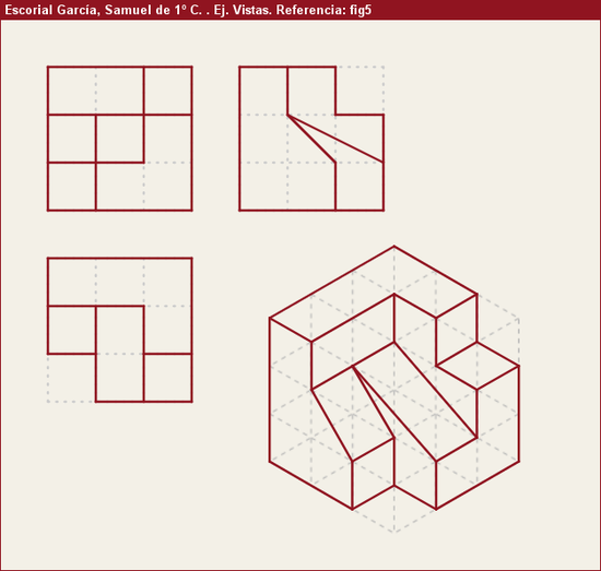 Vistas Diédricas Fig5