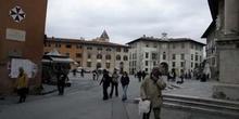Panorámica Plaza de los Caballeros, Pisa