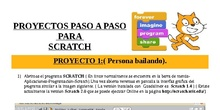 Tutorial proyectos Scratch