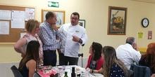 Visita del chef Sergio Fernández - Nutrifriends en el Comedor 14