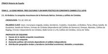 """BLOQUE 2. La Edad Media en la península ibérica<span class=""""educational"""" title=""""Contenido educativo""""><span class=""""sr-av""""> - Contenido educativo</span></span>"""