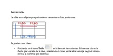 Insertar Tablas en un documento de Libreoffice Writer