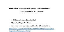 """ENLACES SEMINARIO CEPA """"BUITRAGO"""""""